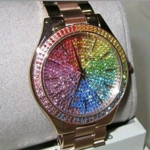 (LAST 1 IN STOCK)NEW Michael Kors pave watch